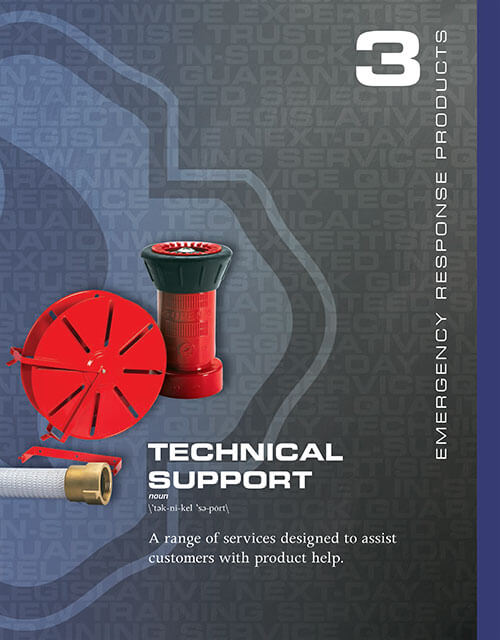 Emergency Response Technical Support Products