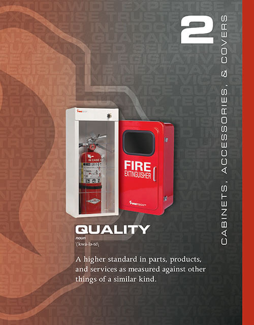 Quality Fire Extinguisher Covers, Cabinets & Accessories