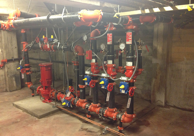 Fire sprinkler installation, maintenance, and repairs